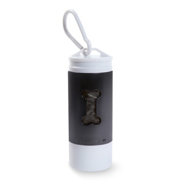 Tedy Light LED torch with pet waste bag d