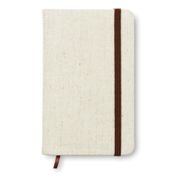 Canvas Mini A6 notebook canvas covered