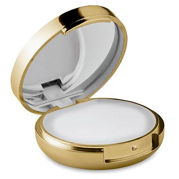 Espejo y barra labial Glow