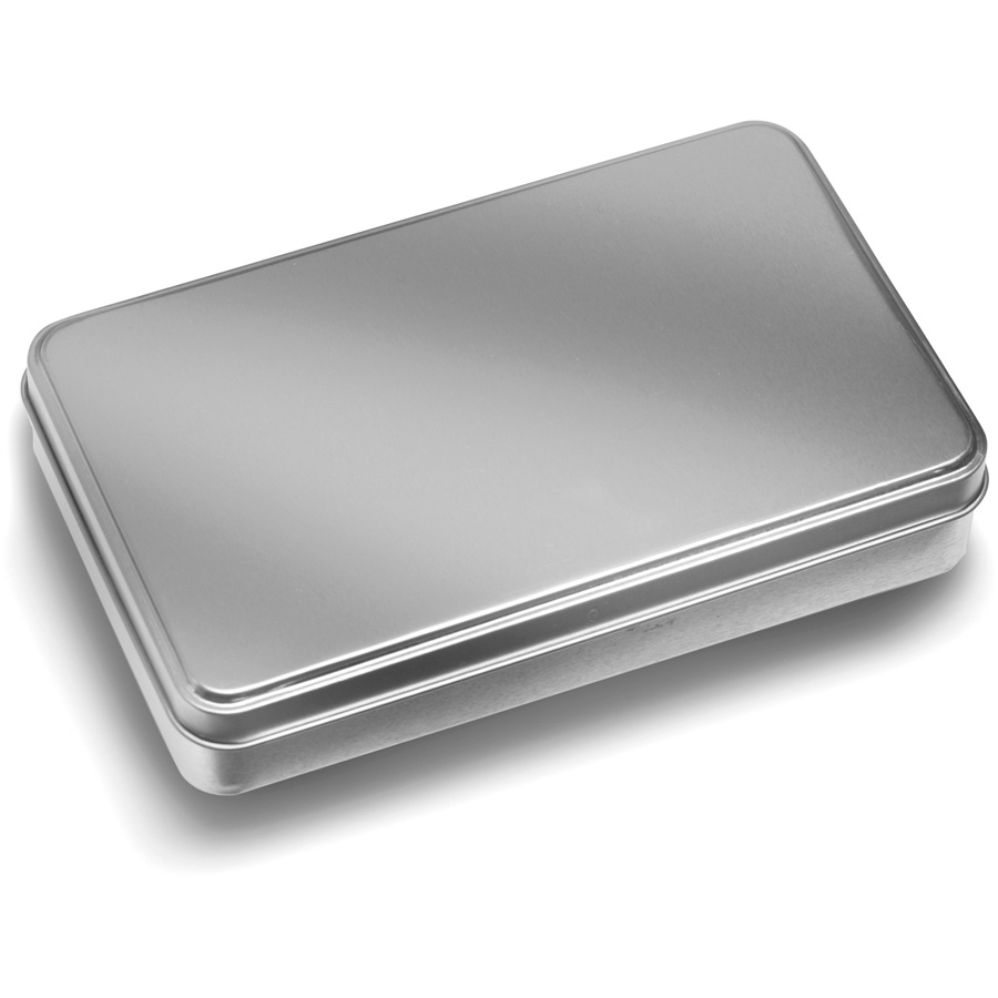 Tin Mailbox: Ludo Game In A Silver Tin Box Consist... GV5990