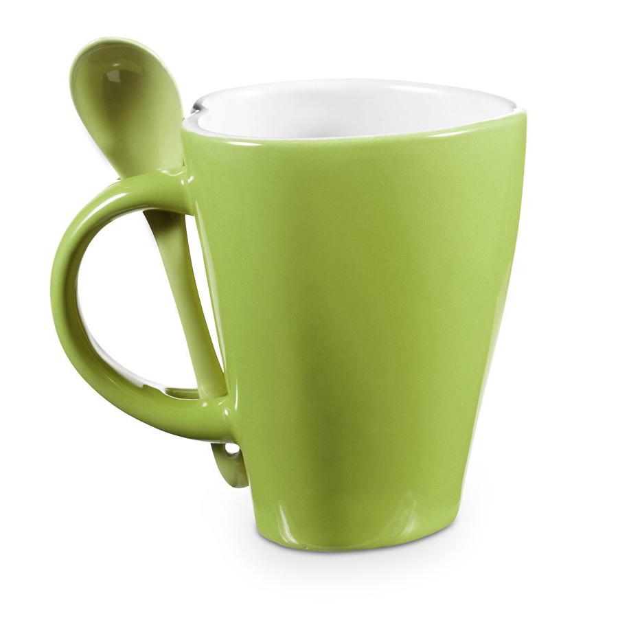 Heart Shaped Porcelain Coffee Mug