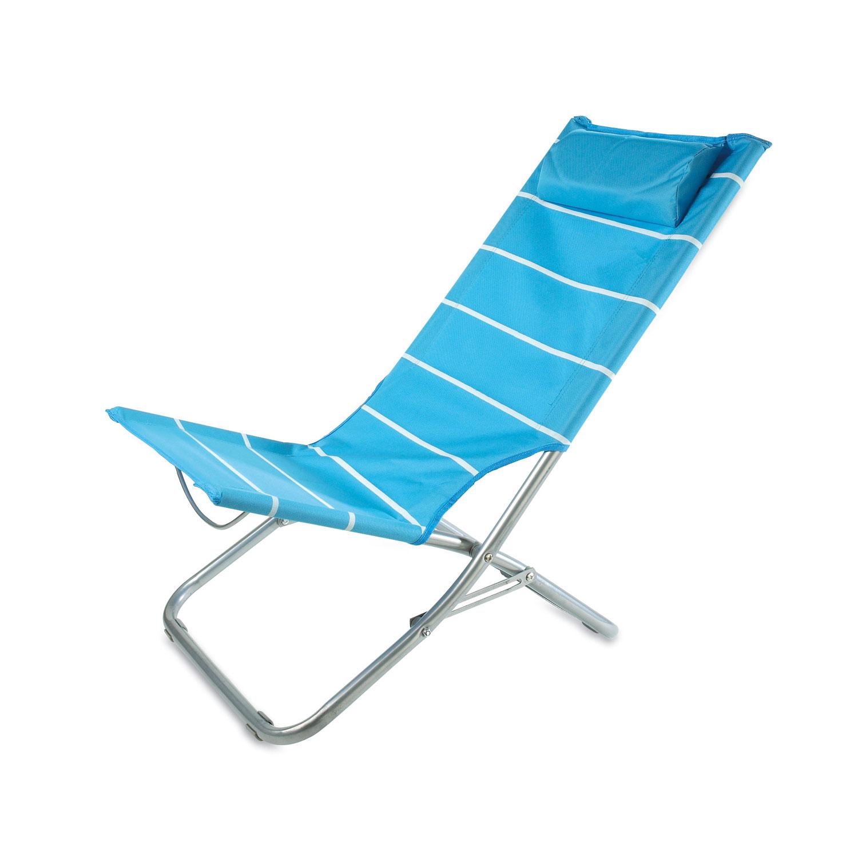 Silla de playa con almohada rimini - Silla de playa ...