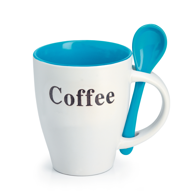 Taza de caf con cuchara coffee coffee www for Tazas para cafe espresso
