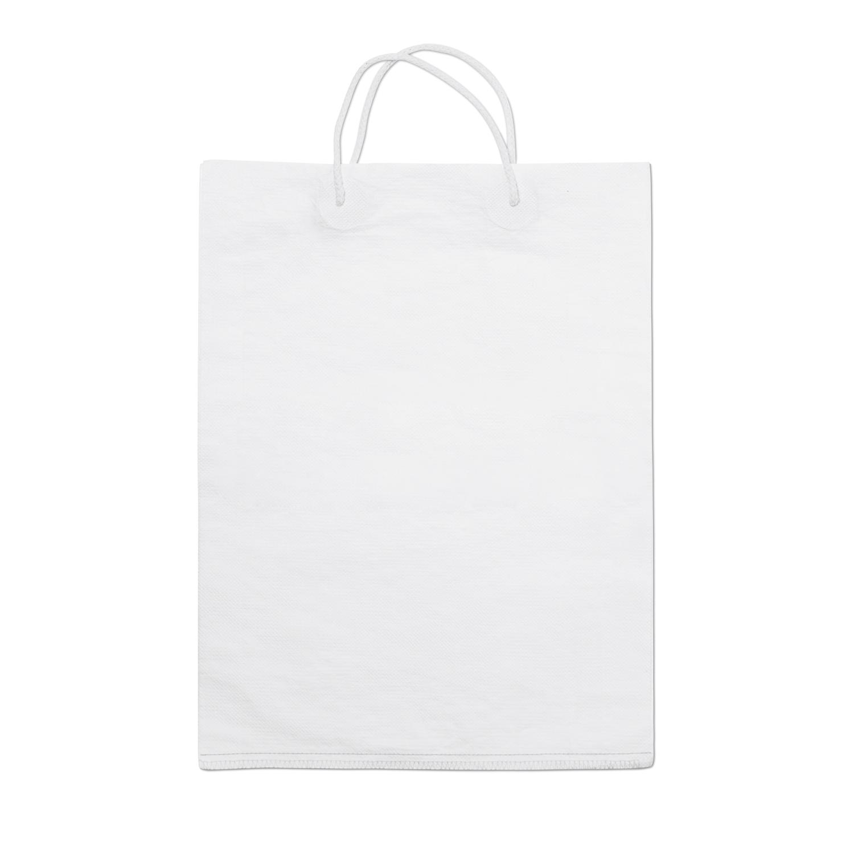 Bolsa de compra de papel blanco papilo www - Bolsa de papel para regalo ...