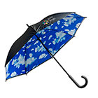 Umbrella with double layered 190T nyl...