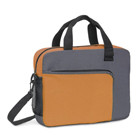 600D multifunction bag with front pocket and mesh side pockets