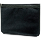 Non-woven document pouch