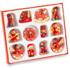 12 pce Christmas decoration se