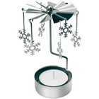 Christmas chime with tealight